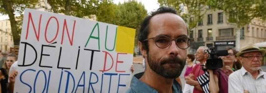 Chapeau bas : Cédric Herrou persiste et signe