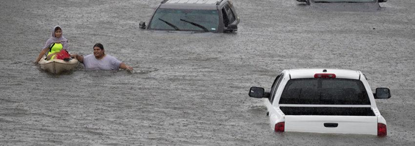 Ouragan Harvey et réactions : chaos dans les cerveaux