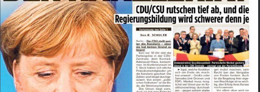 Élections au Reichstag : une vague brune est de retour en Allemagne