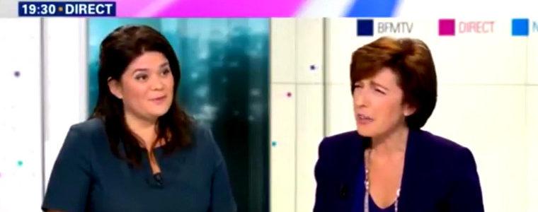 Rassurante, cette prise de bec entre Raquel Garrido et Ruth Elkrief