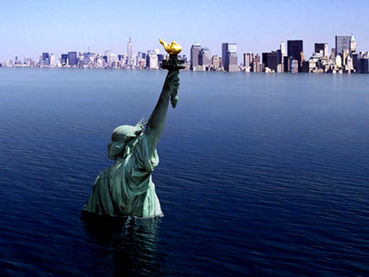 La Liberté noyée