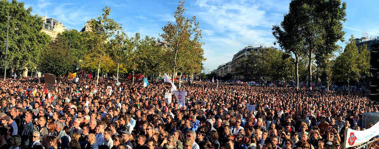 La marche du peuple et la diversion, par Jean-Luc Mélenchon