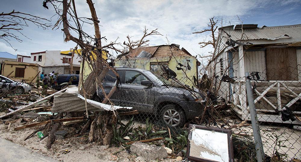 Les dégâts d'Irma à Saint-Martin