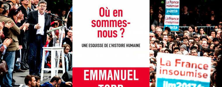 """Todd : """"La FI réconcilie les catégories sociales et éducatives françaises"""""""