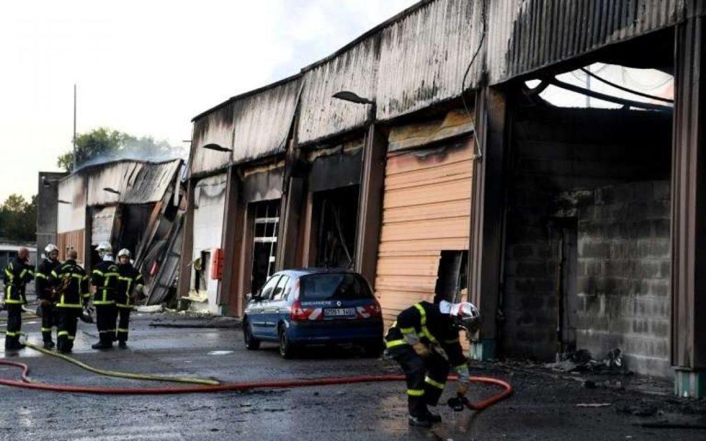 incendie garage grenoble