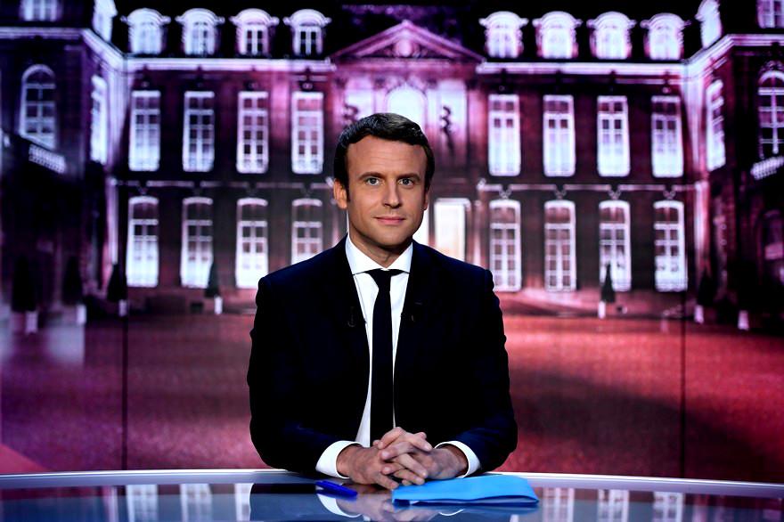 Ce con de Macron
