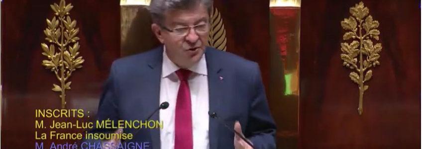 Discours de Jean-Luc Mélenchon sur l'avenir de l'Europe