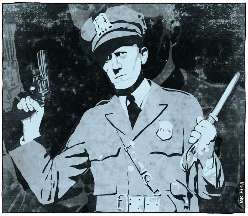 Ever-deadlier US police