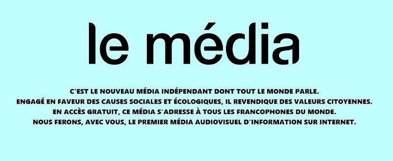 """Le Média appartiendra à ses """"socios""""… c'est-à-dire nous !"""