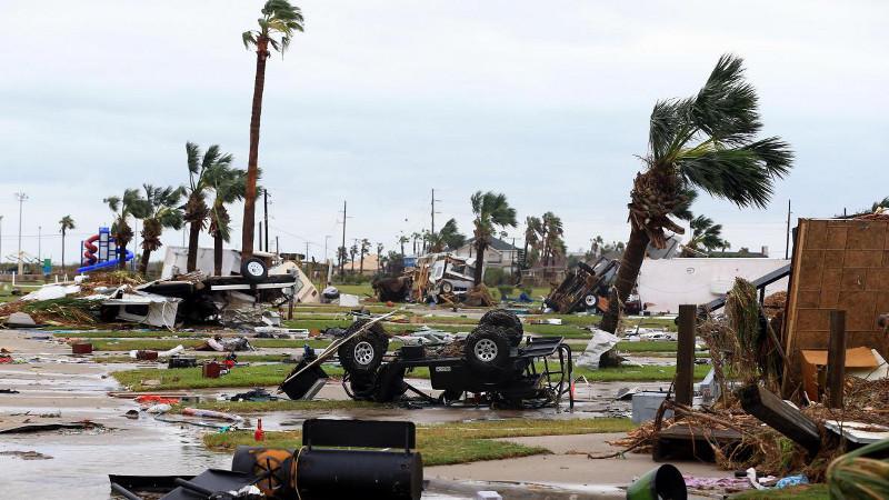 Ouragan Harvey, Texas USA