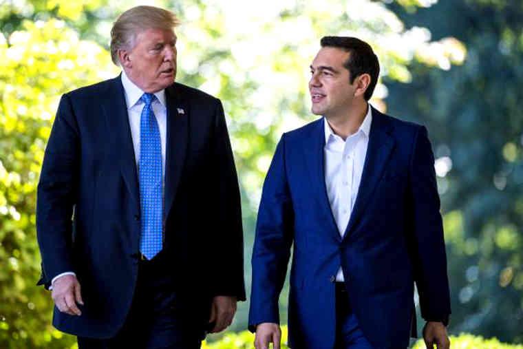 """Décomposition : Tsipras rencontre la """"catastrophe"""" Trump… et se fait humilier"""