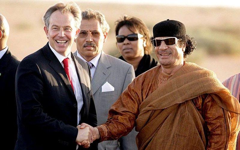 Documents exceptionnels : les conversations entre Kadhafi et Tony Blair