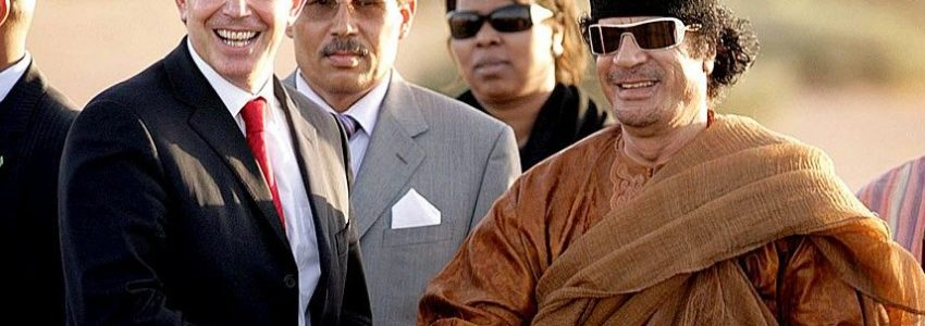 Documents exceptionnels : les conversations entre Kadhafi et Tony Blair