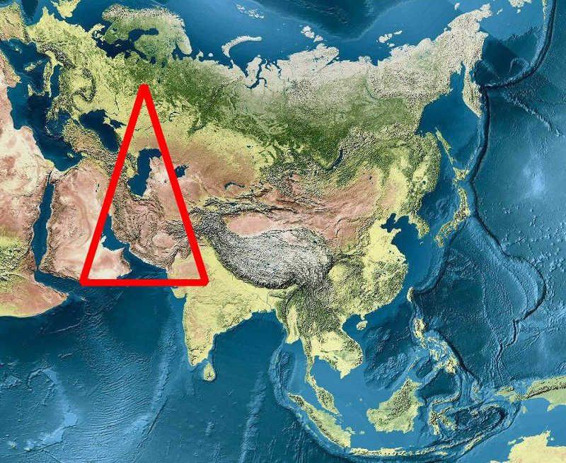 Le Grand jeu : Eurasia, case sud-ouest