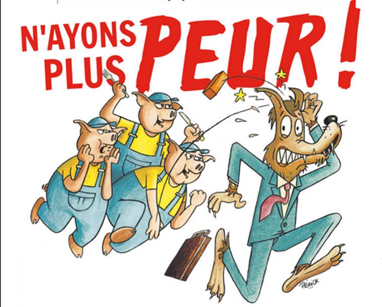 François Ruffin dans Fakir : « N'ayons plus peur ! »