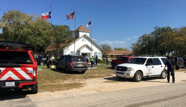 L'église de Sutherland Springs, Texas