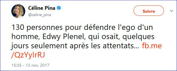 Céline Pina vs Edwy Plenel