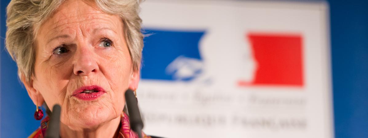 Éliane Houlette, procureure du Parquet national financier
