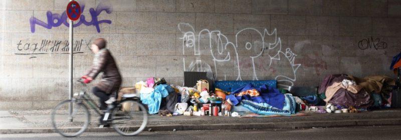 """""""Modèle allemand"""" : le nombre de sans-abri explose en Allemagne"""