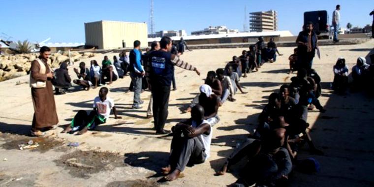 Esclaves Libye