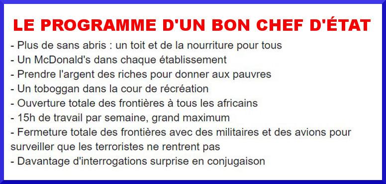 """Conte de Noël : la """"présidentielle"""" de Rachid l'instit"""