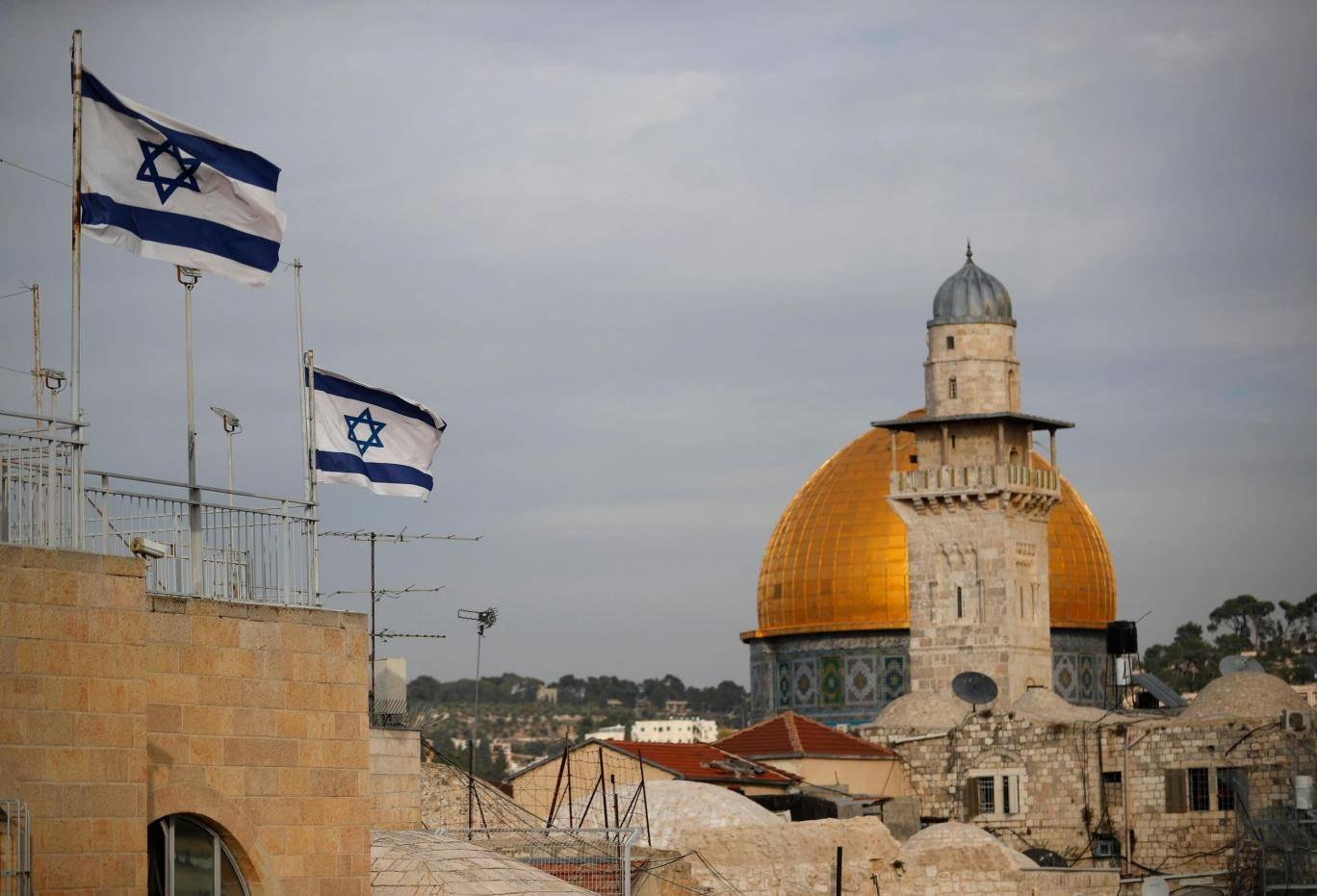 Le dôme de la mosquée Al-Aqsa à Jérusalem
