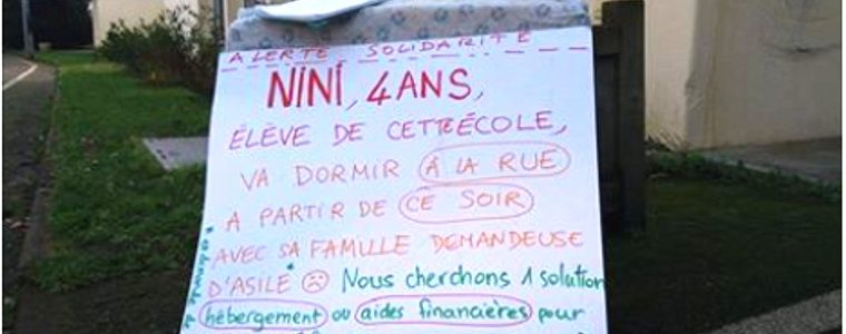 Grâce à vous, Nini et sa famille ont un logement pour l'hiver