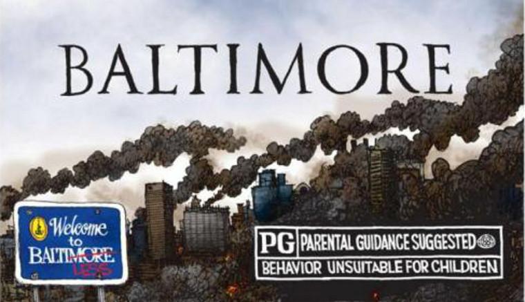 Effondrement : les habitants de Baltimore fuient une ville qui s'écroule