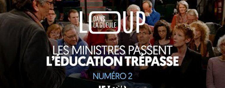 Dans la gueule du loup : les ministres passent, l'Éducation trépasse