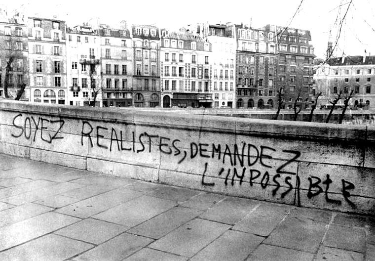 La leçon de Mai 68 : soyez réalistes, demandez l'impossible