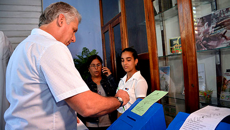 Résultats des élections législatives du 11 mars 2018 à Cuba