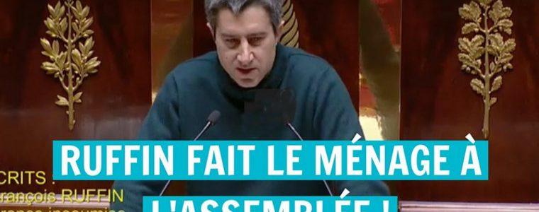 François Ruffin fait le ménage et suscite un torrent de réactions