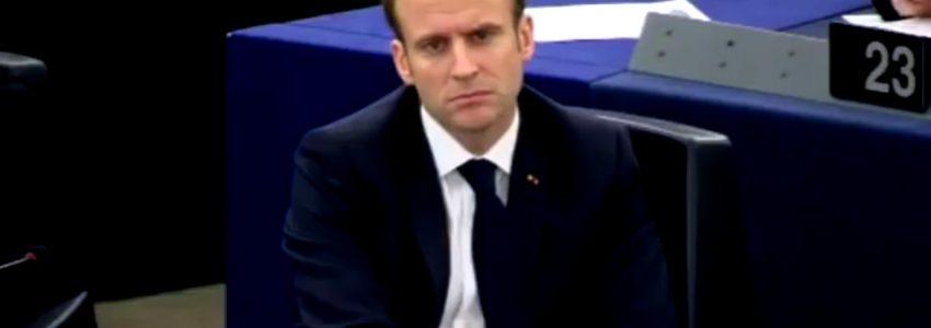 Macron ou le visage de la mort: la finitude de l'homme présidentiel