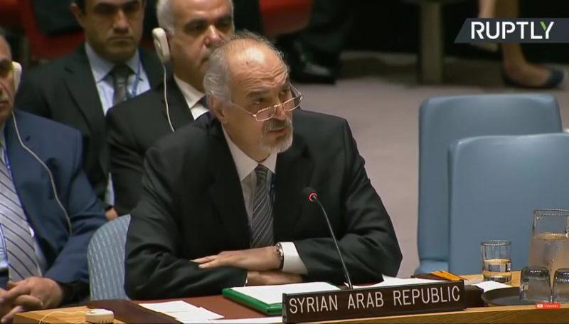 L'intervention du représentant syrien à l'ONU après l'attaque du 14 avril