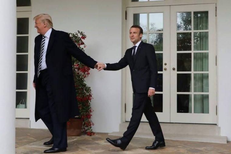 Qui est Emmanuel Macron ? - Page 14 Trump-Macron-760x506