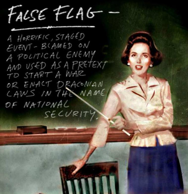 Le Grand jeu: False flag III, le retour