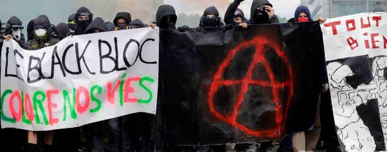 """Communiqué du MILI justifiant l'action des """"black blocs"""" le 1er mai"""