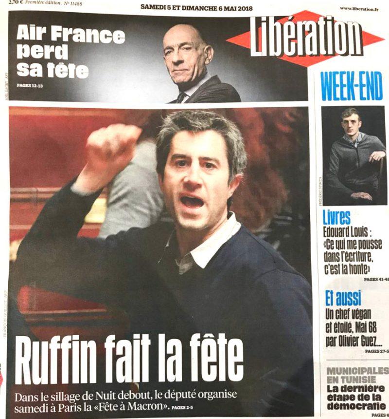 La fête à Macron : une façon festive de se retrouver… sur le dos d'un salaud