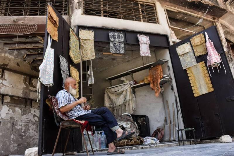 Un voyage en Syrie par Jihad Wachill (2/7) : ALEP, 25 avril 2018