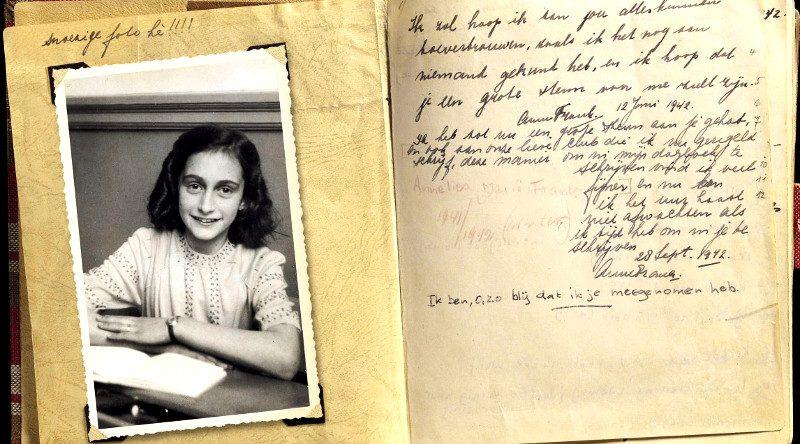 Inédit : quand Anne Frank, 13 ans, parlait de sexualité…