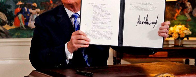 Robert Fisk : en rompant l'accord sur le nucléaire iranien, Donald Trump fait son Kadhafi