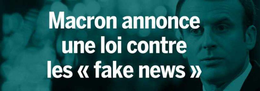 """Le projet de loi contre les """"fake news"""" est un aveu d'impuissance"""