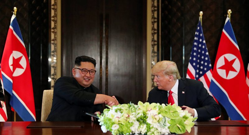 """Ubu Trump: le """"dictateur"""" Kim Jong-un peut se marrer"""