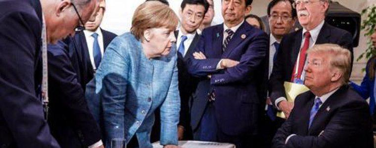 Photo virale du G7 : une histoire de perspectives…