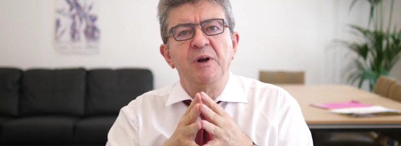 Macrongate : Jean-Luc Mélenchon s'adresse au « chef de bande » Macron