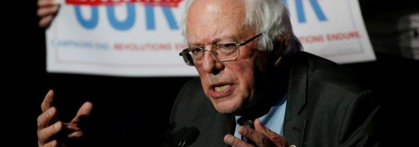 VIDEO : le lapin des grands patrons US à l'invitation de Bernie Sanders