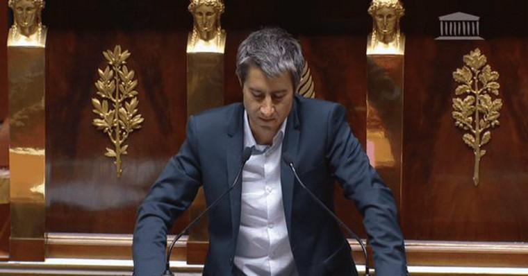 François Ruffin: «Un vent se lève… Votre croissance, nous n'en voulons plus!»