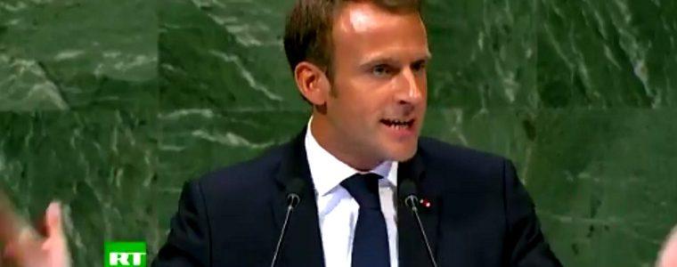 Macron : le précieux ridicule qui tapait sur la table