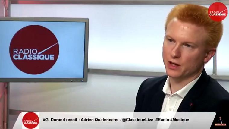 Adrien Quatennens (France insoumise) propose une « garantie de dignité » de 1 000 euros mensuels