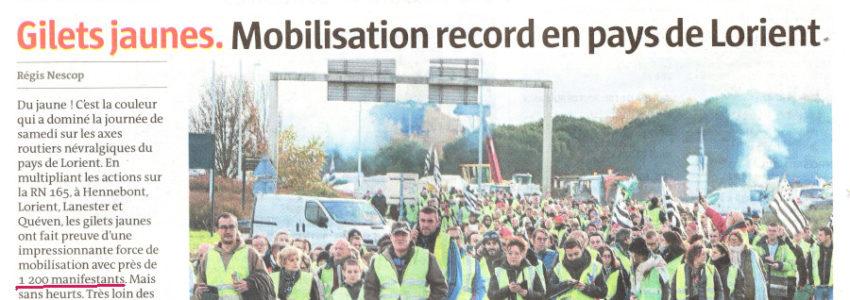 Un moyen fastoche pour comptabiliser le nombre réel de manifestants Gilets jaunes du 24 novembre